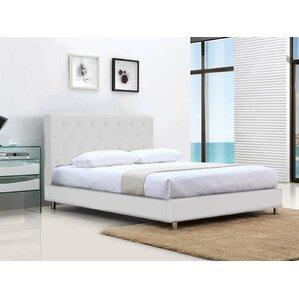 Blohm Queen Upholstered Panel Bed by Orren Ellis