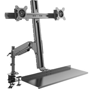 Read Reviews Tilt and Swivel Desktop Mount for 20 - 27 LCD LED By Rosewill