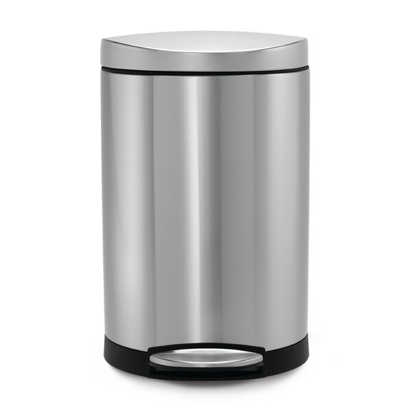 stainless steel gallon step on trash can reviews garbage costco canada home depot 13 target