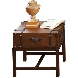 Delavan Suitcase End Table