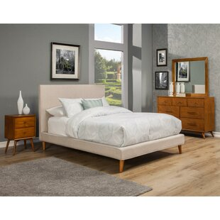 Shop For Eastlake Poplar Pine Wood Upholstered Panel Bed by Corrigan Studio Reviews (2019) & Buyer's Guide