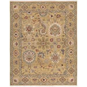 Cullen Hand-Woven Gold Area Rug