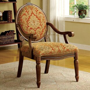 Carraton Traditional Armchair by Alcott Hill