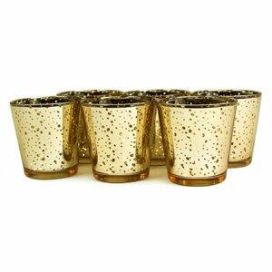 Antique Glass Votive Cup (Set of 6)