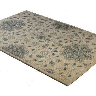 Akron Handwoven Wool Ivory Area Rug by Birch Lane™ Heritage