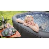 MSPA USA Delight Tekapo 6 - Person 132 - Jet Vinyl Square Inflatable Hot Tub in Charcoal Gray