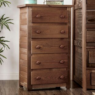 Edgerton Rafael 5 Drawer Chest by Foundry Select