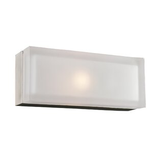 Find the perfect Senecal 1-Light Satin Nickel Wall Sconce By Latitude Run