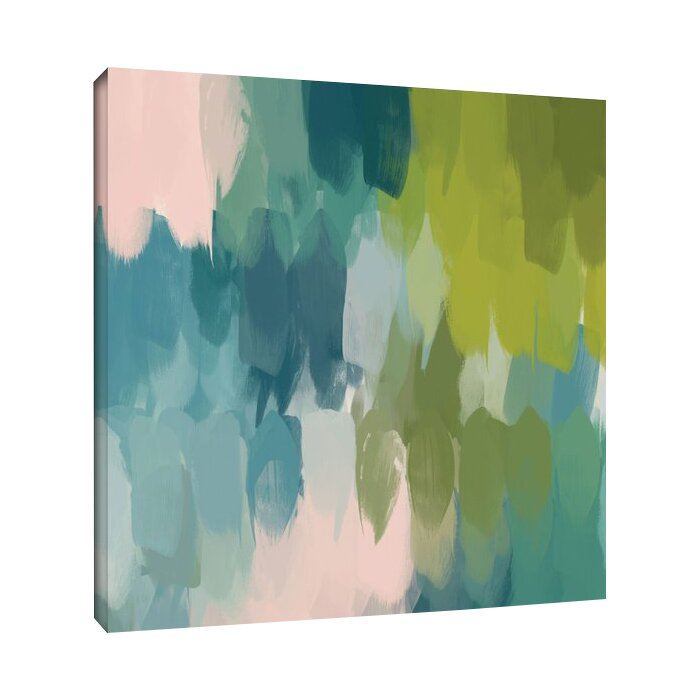 Calm Colours II Painting Print On Wrapped Canvas
