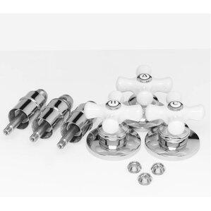 porcelain shower handle kit - Shower Knobs