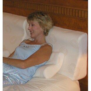 Supple-Pedic Sit-Up Headboard Foam Pillow