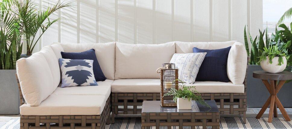 Lounge Sets modern outdoor lounge furniture allmodern