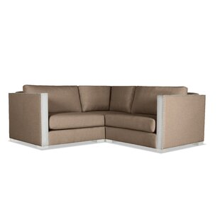 Steffi Solid Right and Left Arms L-Shape Modular Sectional