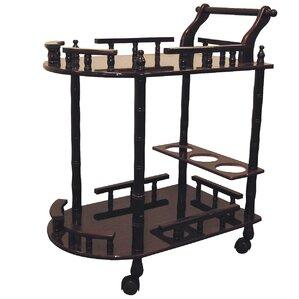 Zabala 2 Tier Wine Bar Cart by World Mena..