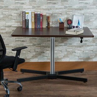 Jurgens Height Adjustable Sit Stand Writing Desk by Symple Stuff Best Choices