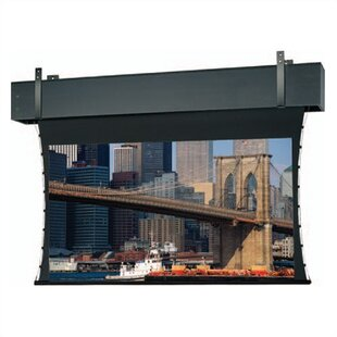 Comparison Tensioned Professional Electrol Grey Electric Projection Screen By Da-Lite