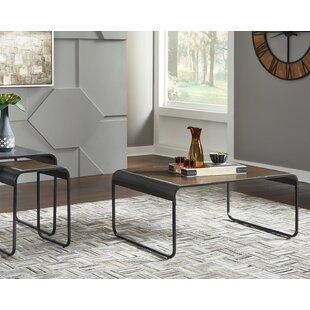 Powe 3 Piece Coffee Table Set