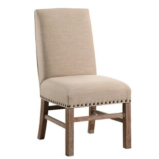 Osterhout Vintage Nailhead-Trim Parsons Chair by One Allium Way