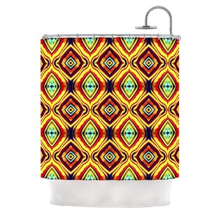 Diamond Light by Anne LaBrie Single Shower Curtain By East Urban Home