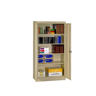 2 Door Storage Cabinet by Tennsco Corp. Cheap