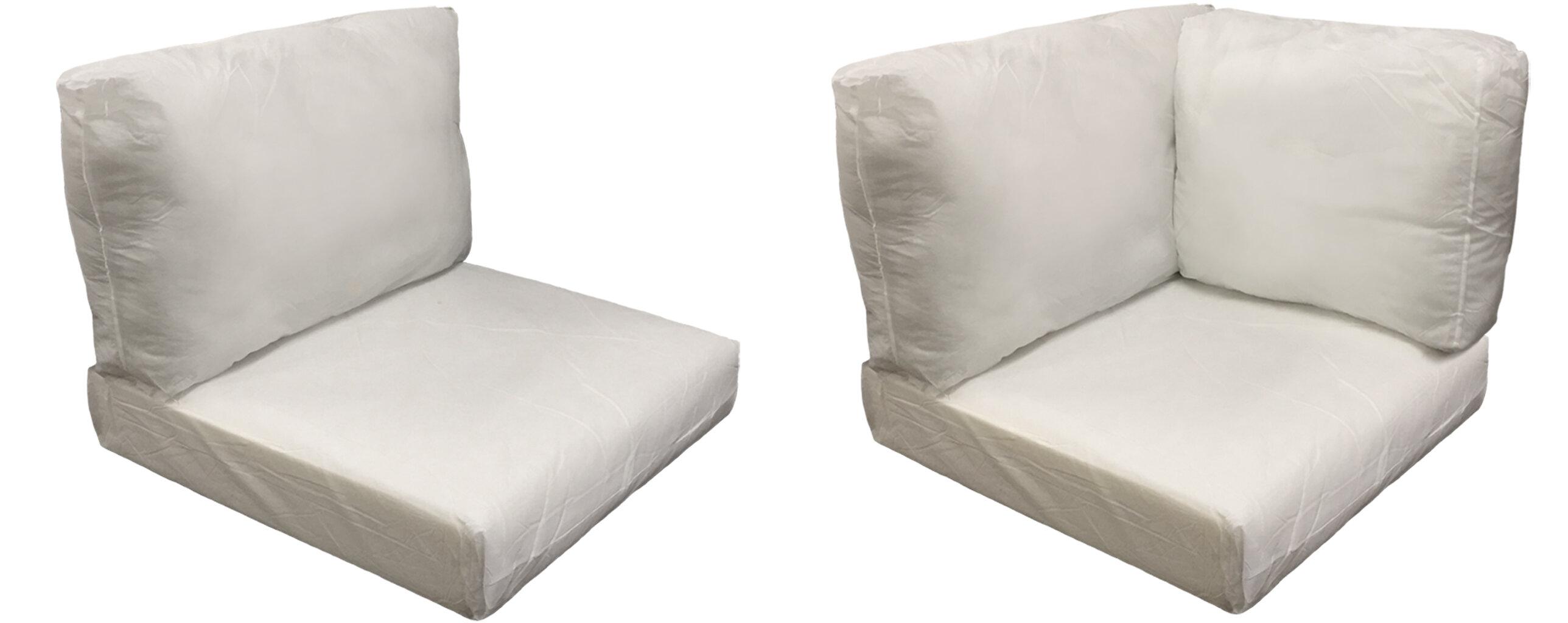 Estrella Outdoor 24 Piece Lounge Chair Cushion Insert Set