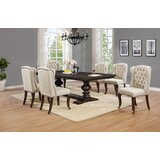 Meltham 7 Piece Extendable Dining Set by Canora Grey