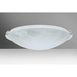 Look for Trio 3-Light Outdoor Flush Mount By Besa Lighting
