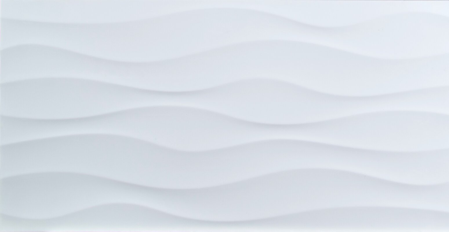 Msi dymo wavy 12 x 24 ceramic field tile in white reviews wayfair dymo wavy 12 x 24 ceramic field tile dailygadgetfo Image collections