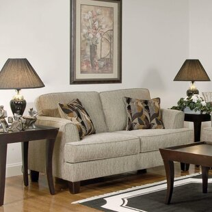 Whitaker Upholstery Davey Loveseat by Three Posts