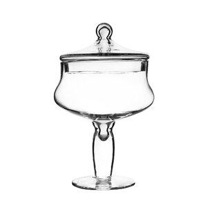 Glass Candy Buffet Apothecary Jar (Set of 4)