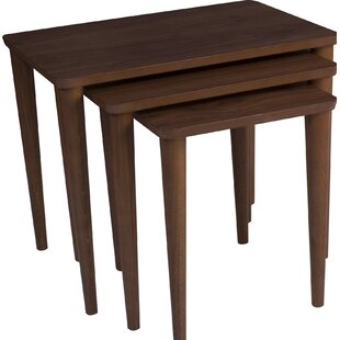 Bodine Stackable 3 Piece Nesting Tables
