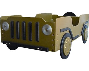 Military Toddler Car Bed by Just Kids Stuff