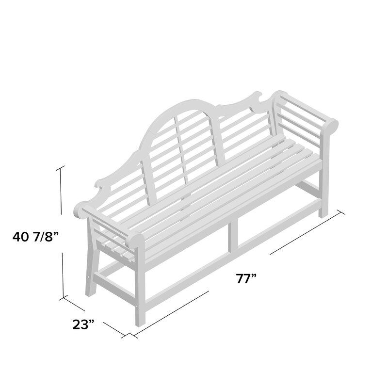 Brilliant Ziemer Wooden Garden Bench Pabps2019 Chair Design Images Pabps2019Com