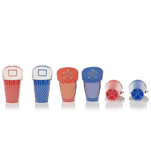 Basketball Paper Disposable Cup (Set of 20)