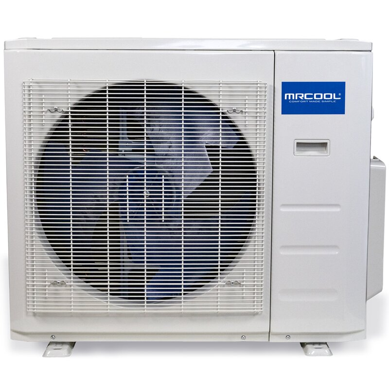 Mrcool Olympus 24 000 Btu Energy Star Ductless Mini Split Air Conditioner With Heater Remote And Wifi Control Wayfair
