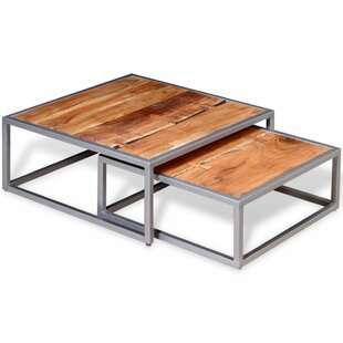 Newton 2 Piece Coffee Table Set by Wrought Studio Coupon