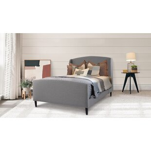 Gia Wingback Upholstered Platform Bed