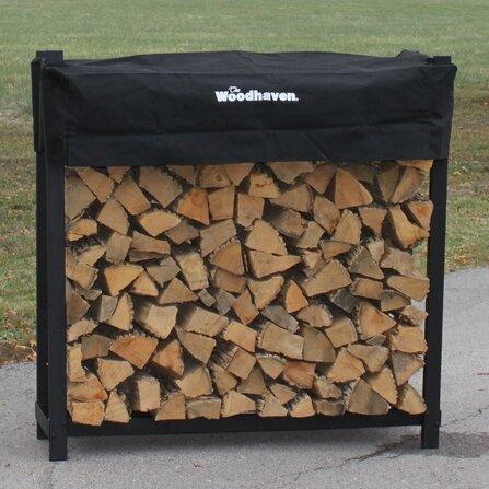 Woodhaven Firewood Log Rack Reviews Wayfair