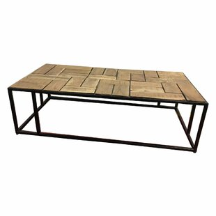 Keaton Parquet Coffee Table by Foundry Select