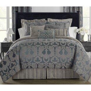 Chateau 4 Piece Reversible Comforter Set