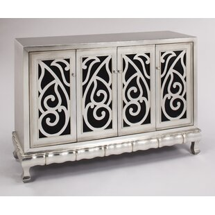 Cabinet with 4 Doors Accent Cabinet