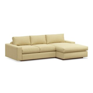 "Jackson 114"" Sofa with Chaise by TrueModern SKU:CE638227 Order"