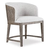 Curata Upholstered Side Chair in Light Gray by Hooker Furniture