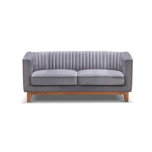 Shop for Crofts Loveseat by Bungalow Rose Reviews (2019) & Buyer's Guide