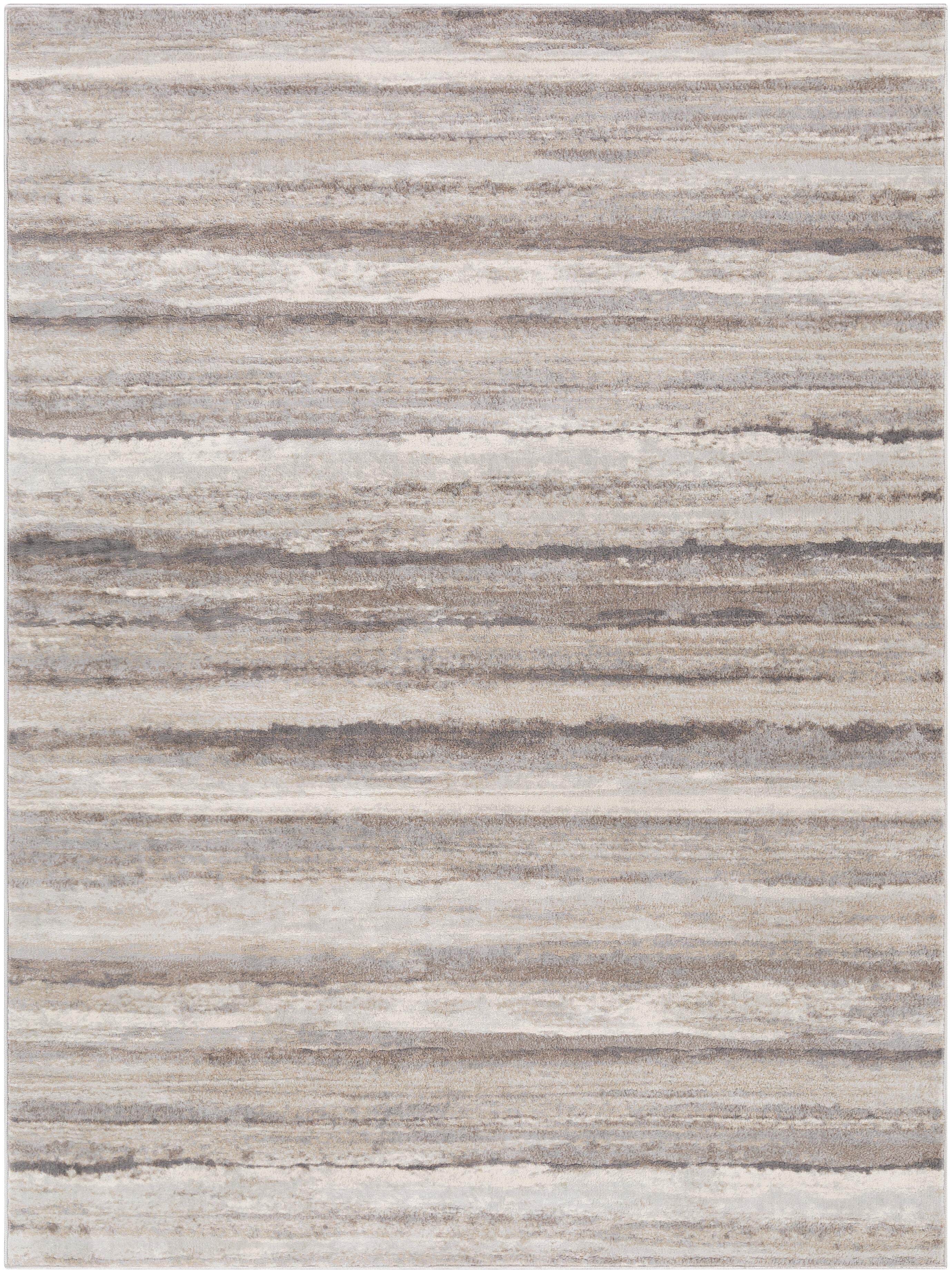 Highland Dunes Grigor Power Loom Medium Gray Tan Camel Rug Reviews Wayfair