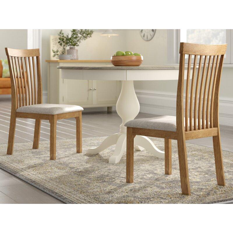 225 & Yvonne Oak Upholstered Dining Chair