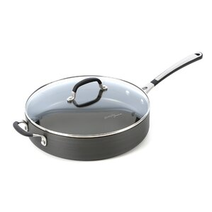 Simply Nonstick 5-qt. Saute Pan with Lid