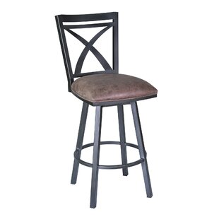 Bonnett 30 Swivel Bar Stool by Orren Ellis
