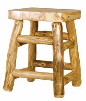 Aspen Heirloom 24'' Bar Stool Mountain Woods Furniture