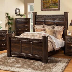 wooden bedroom sets. Boyers Solid Wood Panel Configurable Bedroom Set Furniture  Wayfair